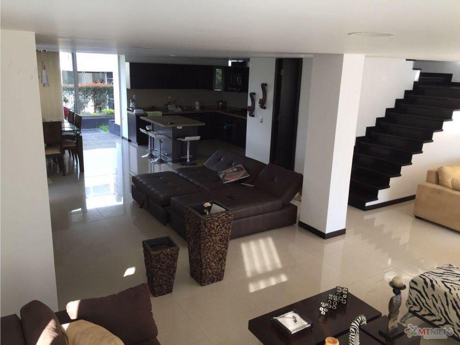casa 3 alcobas 335 m2 condominio santa clara av 19