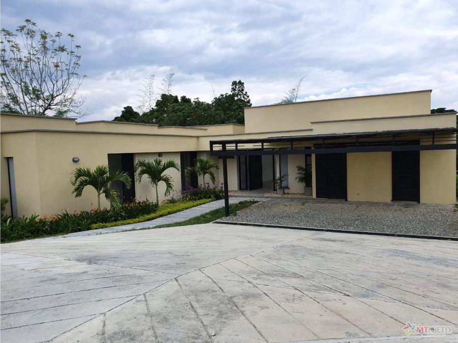 casa campestre lote 2412 m2 4 alcobas 324 m2 mocawa