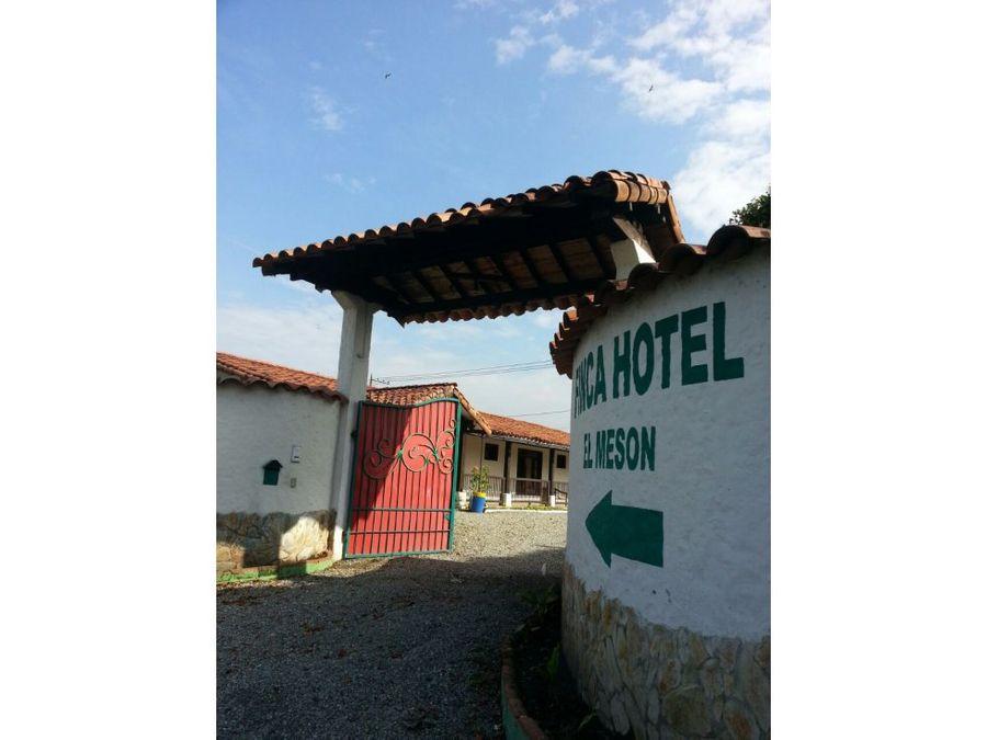 finca hotel el meson via armenia montenegro