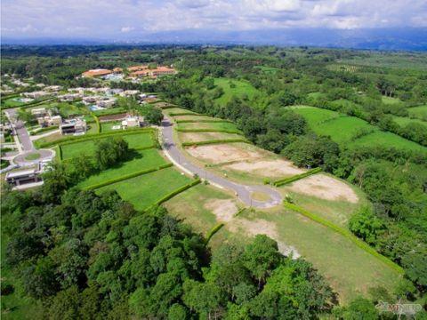 lote 1300 m2 condominio campestre mocawa