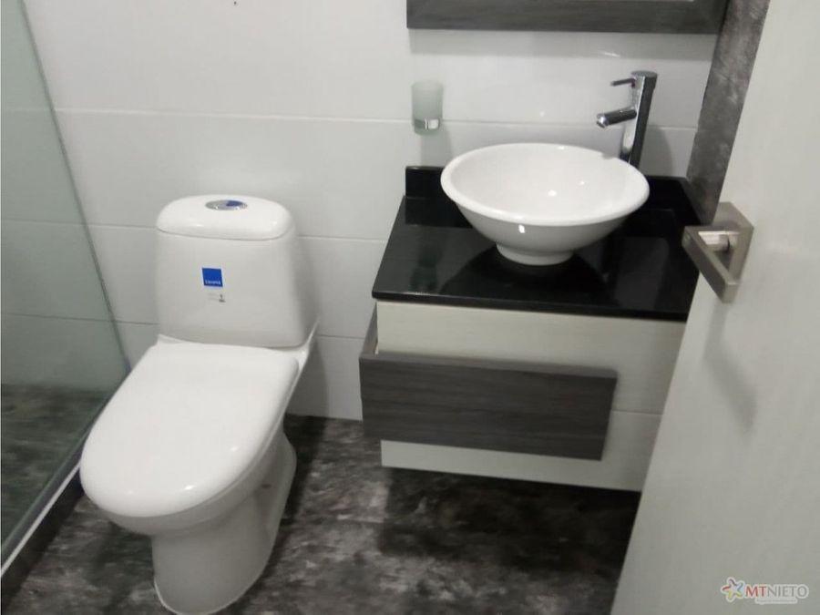 apartamento 62 m2 de 2 alcobas en norte de armenia