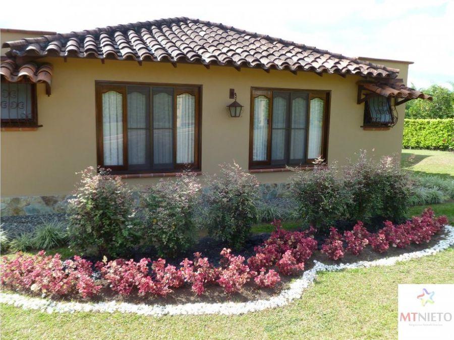 casa campestre 339 m2 y lote 2620 m2 pueblo tapao