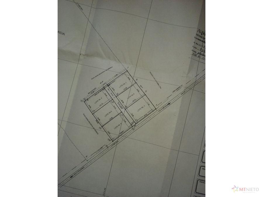lote via neiva palermo 20233 m2 neiva zona industrial