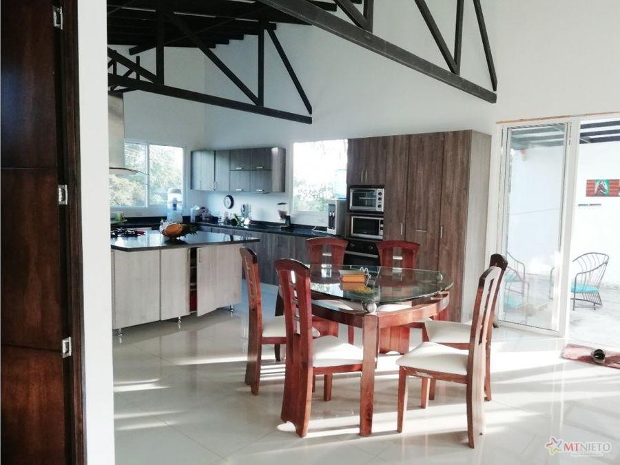 casa campestre lote 2550 m2 y 288 const salento