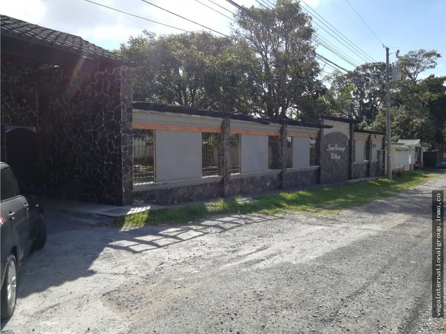 lote en santo domingo de heredia