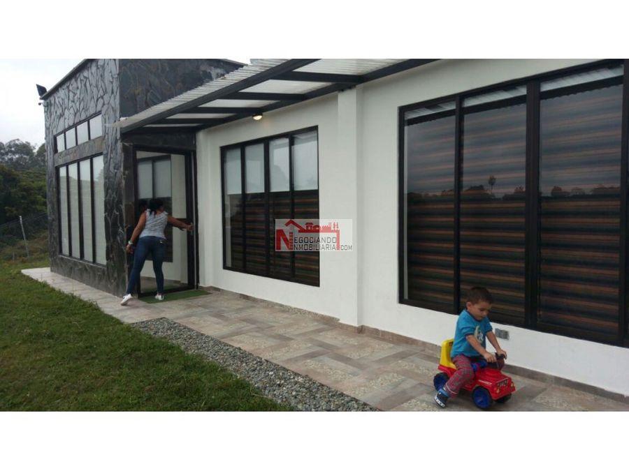 venta casa campestre reserva natural