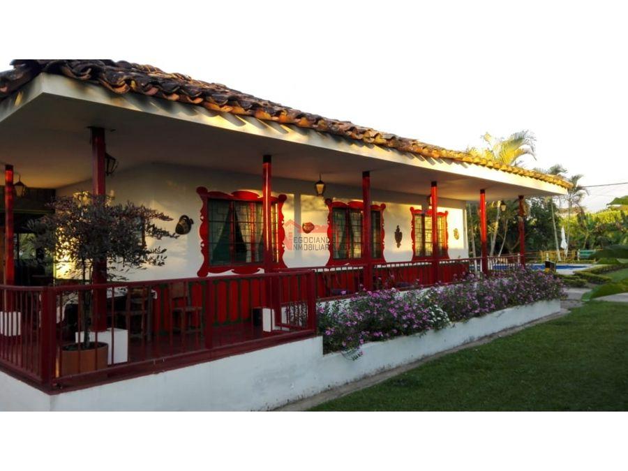finca tipica quimbaya