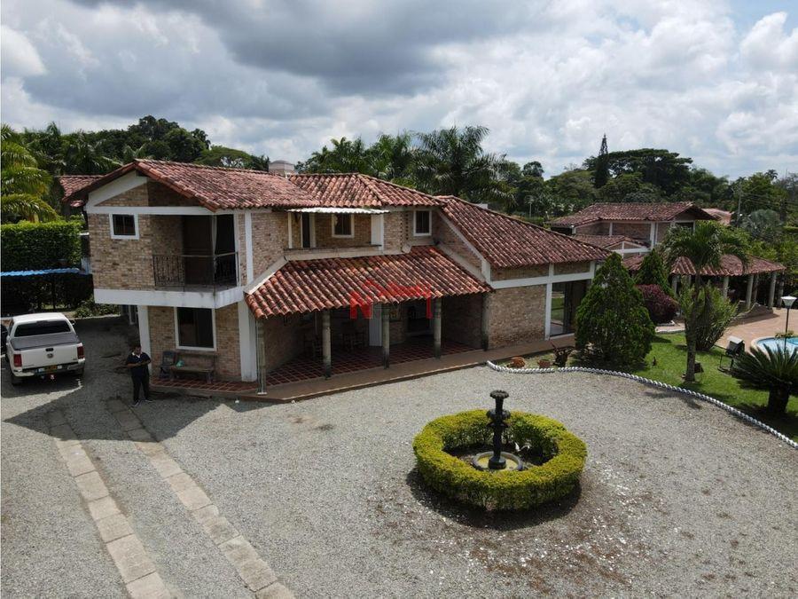 alquiler casa campestre en condominio sector mall paraiso