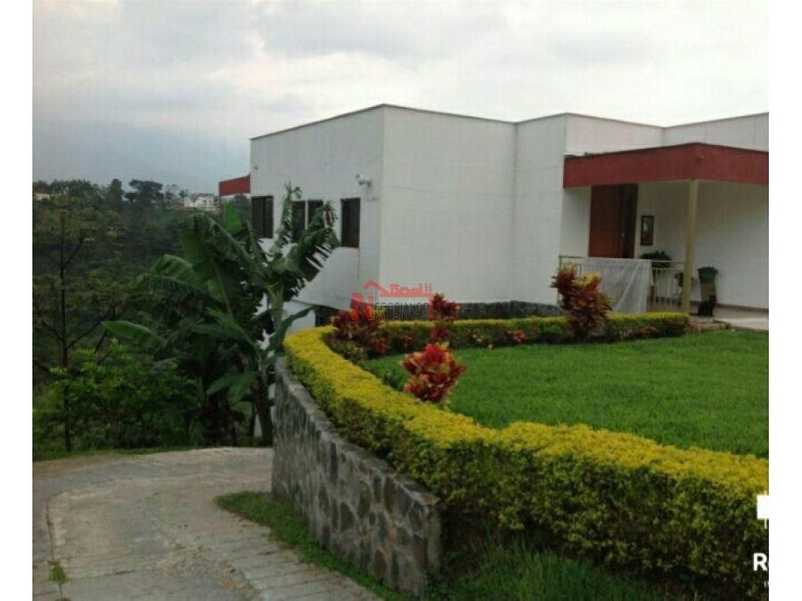 venta casa condominio campestre via el caimo