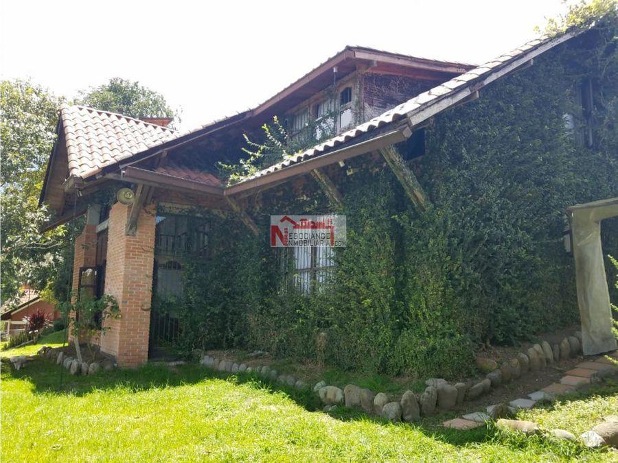 venta hermosa casa campestre via armenia pereira