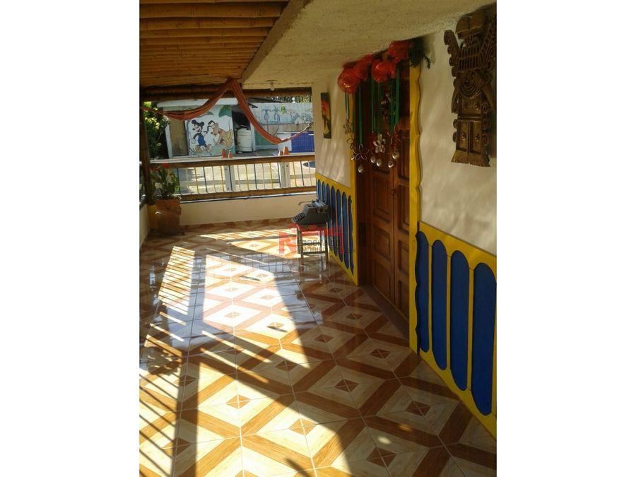 venta chalet quimbaya