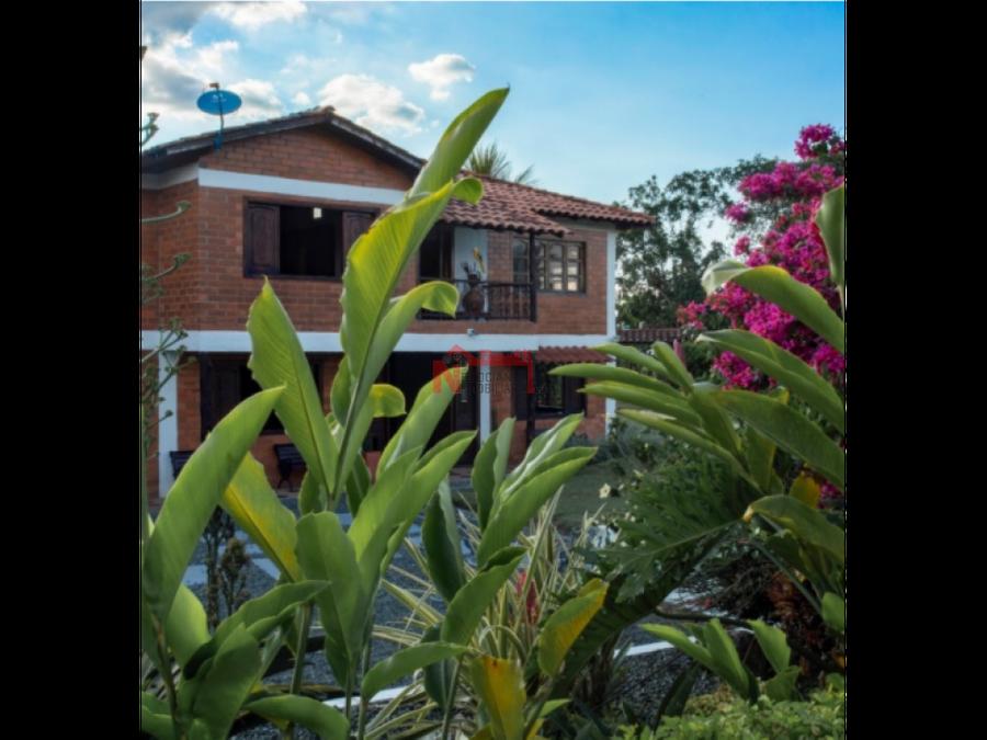 alquiler finca quimbaya turismo