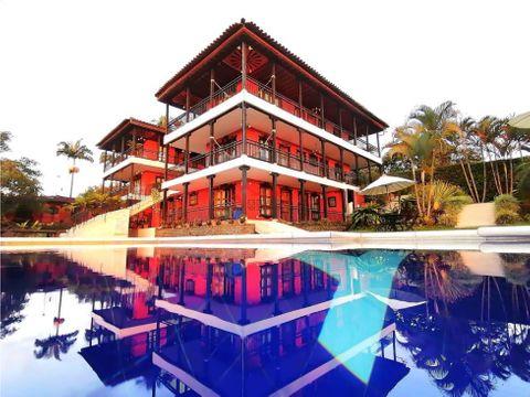 alquiler finca hotel turistico pueblo tapao