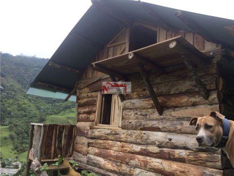 alquiler cabana reserva natural pijao