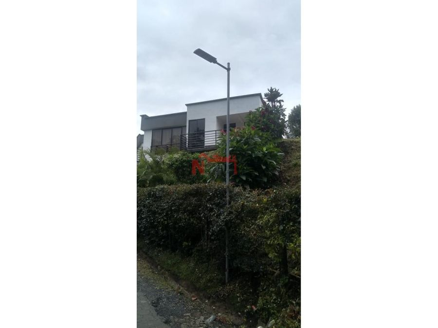venta casa campestre condominio via pereira