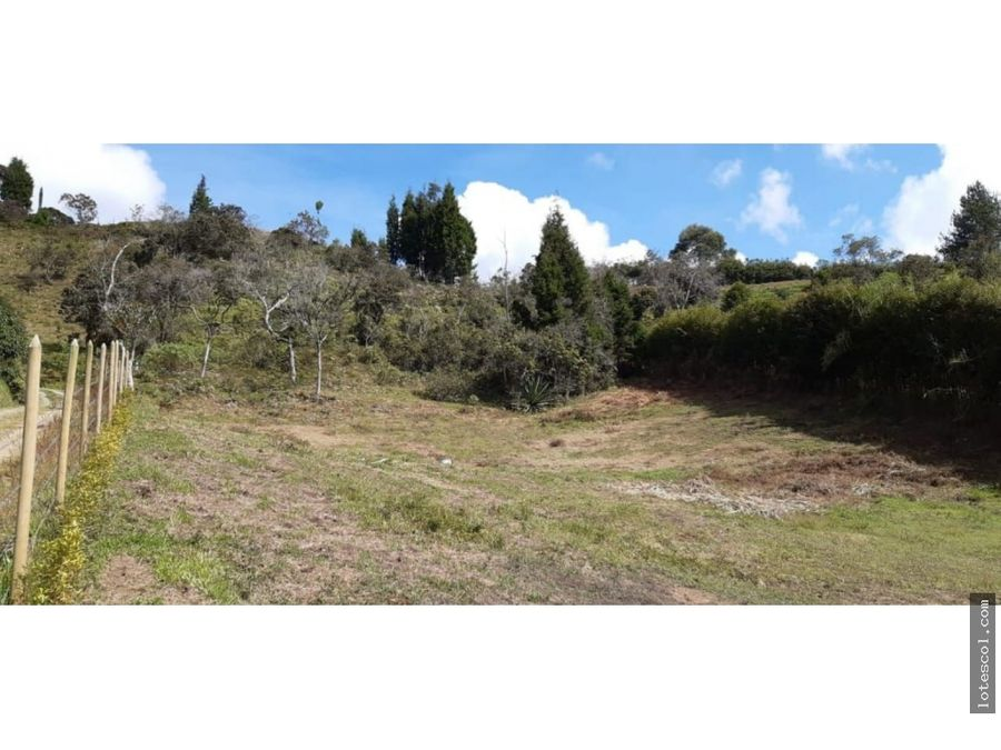 lote guarne independiente vereda san jose