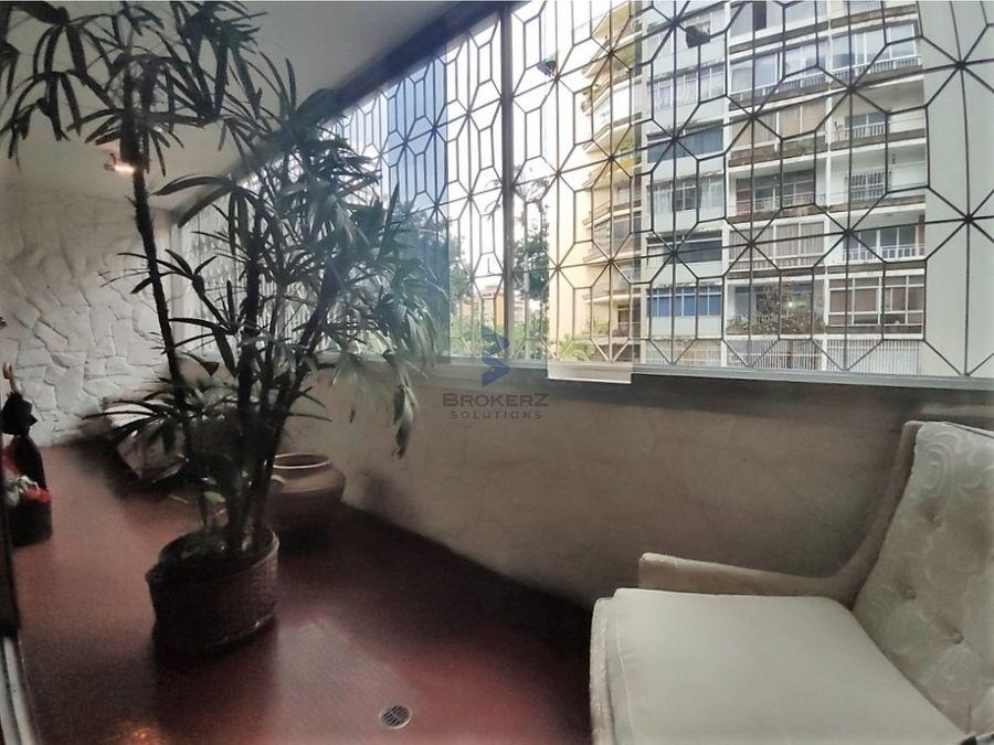se vende apartamento 166 mts 3hs2bs1p altamira
