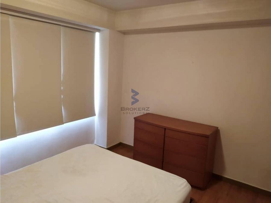 alquiler apartamento 67mt2 1h1b2e campo alegre