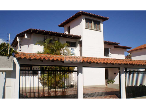 venta casa 328m2 7h 4b 4e colinas de santa monica caracas