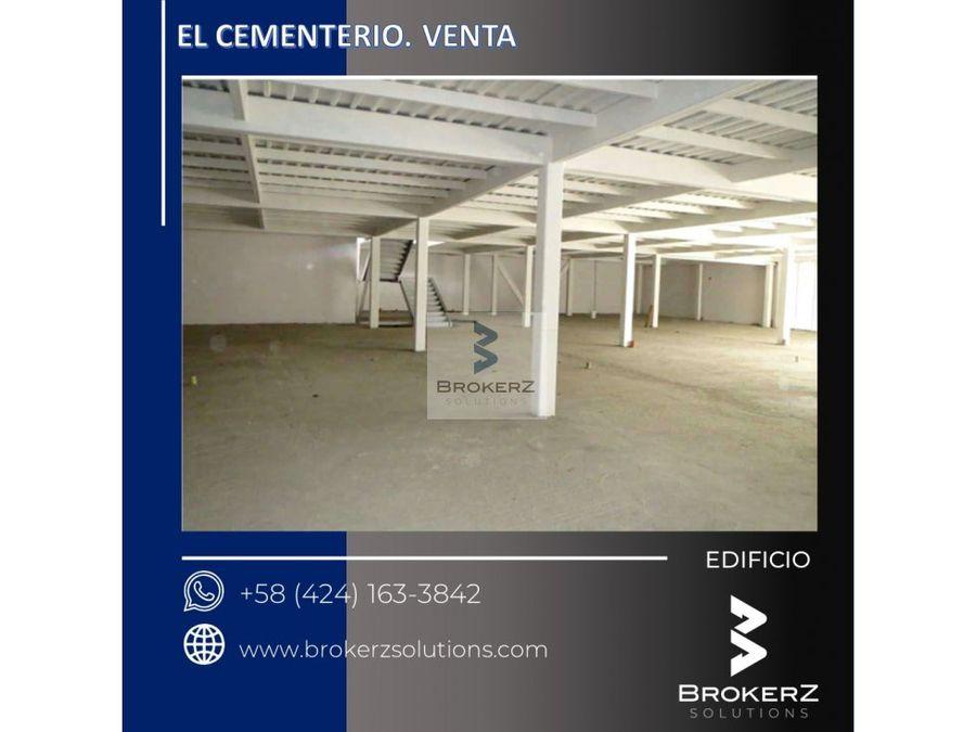 venta edificio el cementerio caracas