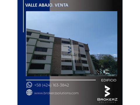 venta edificio 2300m2 valle abajo caracas
