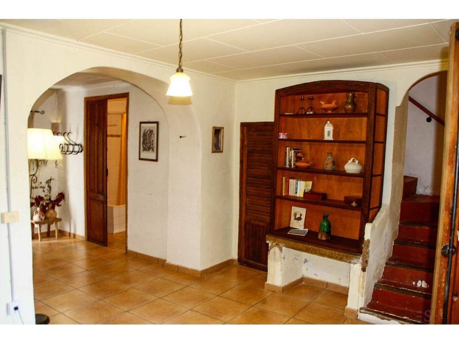 casa de 4 habitaciones en benitaia vall de la gallinera