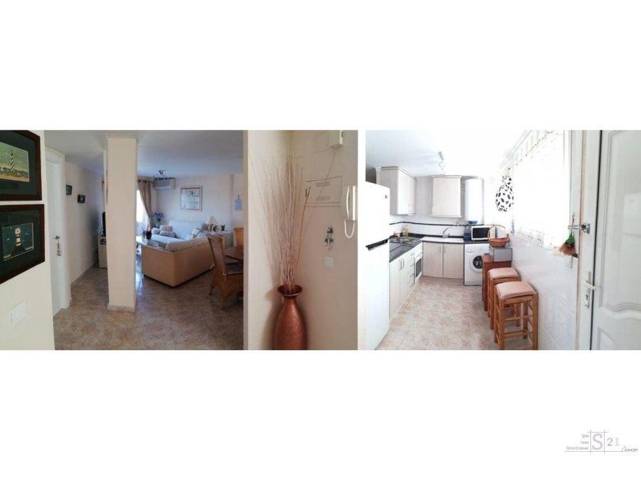 alquiler anual apart de 2 habitaciones en denia