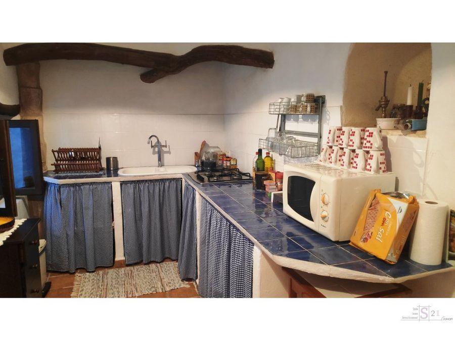 casa de 3 habitaciones en benirrama vall de la gallinera
