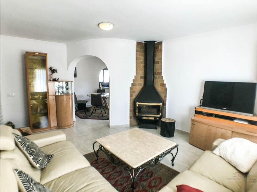 alquiler anual villa de 3 habitaciones en els poblets