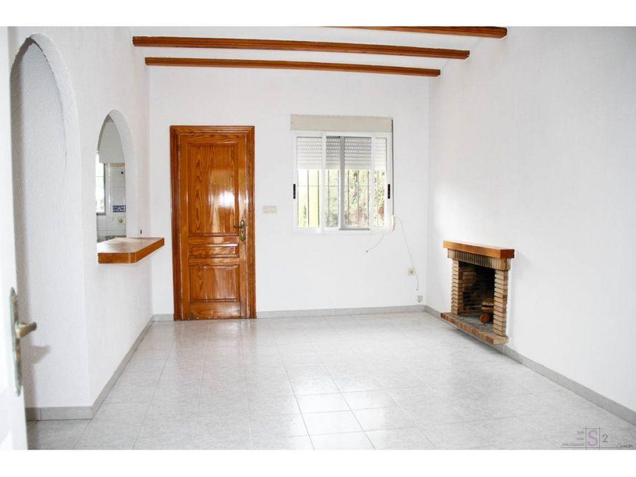 alquiler anual casa de 2 habitaciones en els poblets