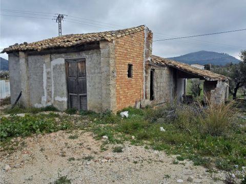 parcela con casa para obras en murla