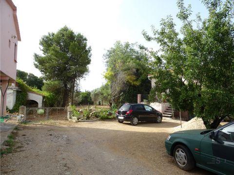 gran terreno con casa para obras en murla