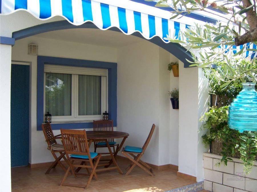 alquiler anual casa de 3 habitaciones en el verger