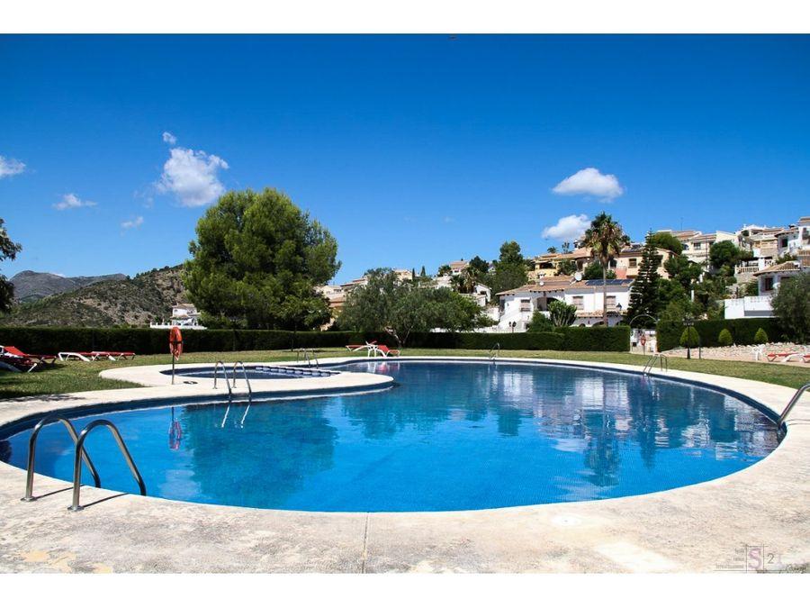 chalet de 2 habitaciones en murla con piscina comunitaria