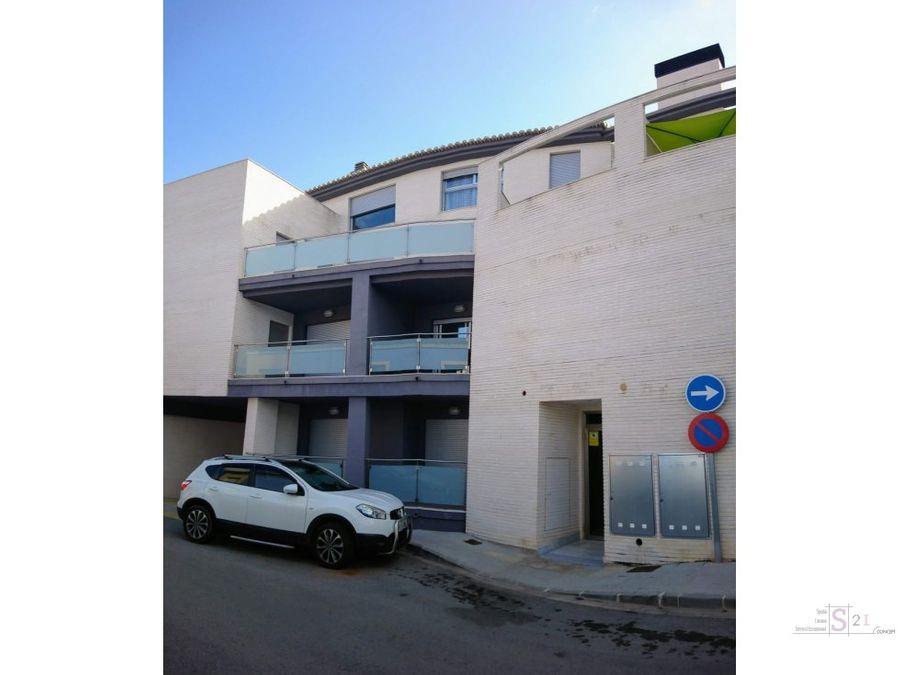 alquiler anual piso de 1 dormitorio en beniarbeig