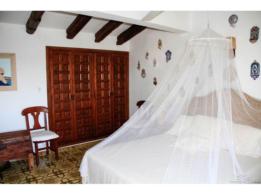 alquiler anual chalet de 5 habitaciones en denia vista al mar