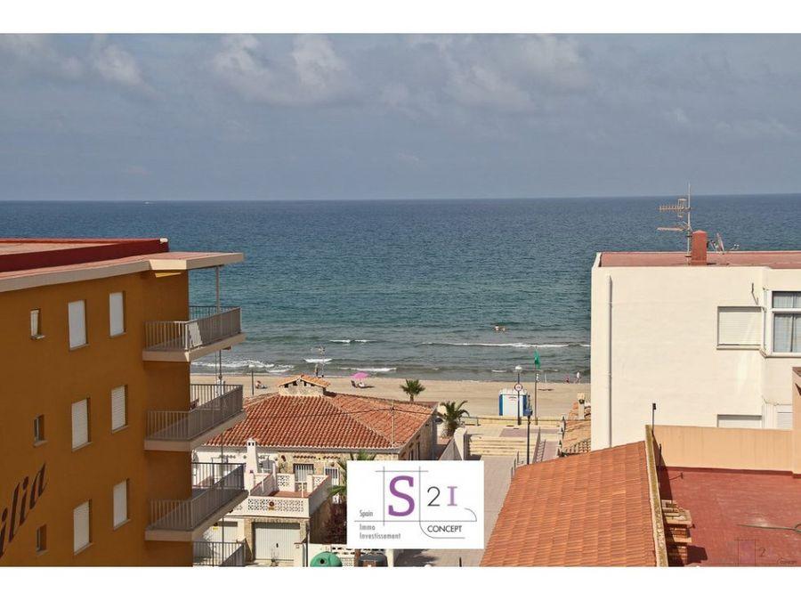 apartamento de 2 hab en la playa de miramar