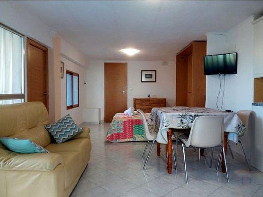 apartamento loft de 1 dormitorio en denia