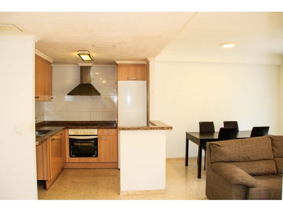 alquiler anual piso de 2 habitaciones en benidoleig