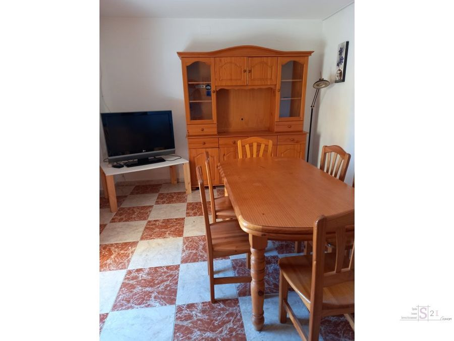 alquiler anual piso de 2 habitaciones la xara
