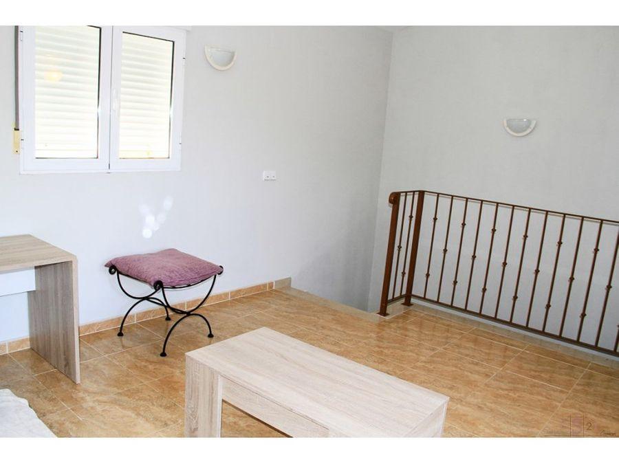 alquiler anual casa adosada de 4 habitaciones en la xara