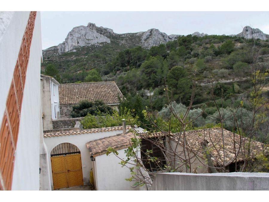 2 casas 10 dormitorios vall de gallinera