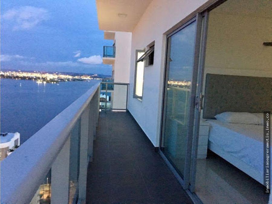 apartamento en bocagrande con excelente vista