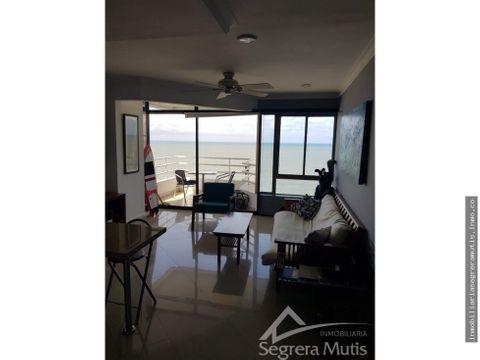 apartamento en bocagrande con vista al mar