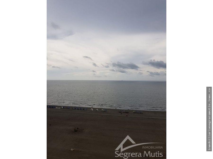 apartamento en la boquilla frente al mar