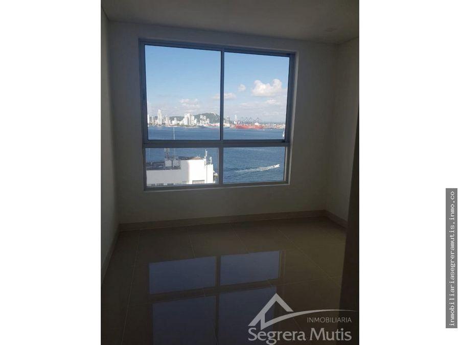 apartamento en castillogrande con vista al mar