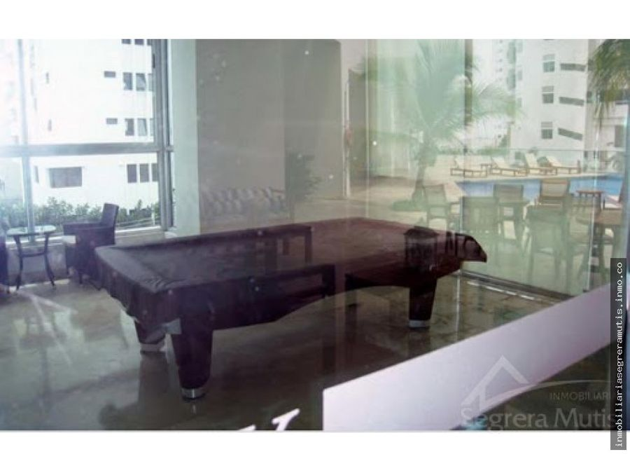 segrera mutis arrienda apartamento en bocagrande con vista a la bahia
