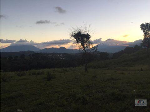 vendo terreno campestre en sumpango