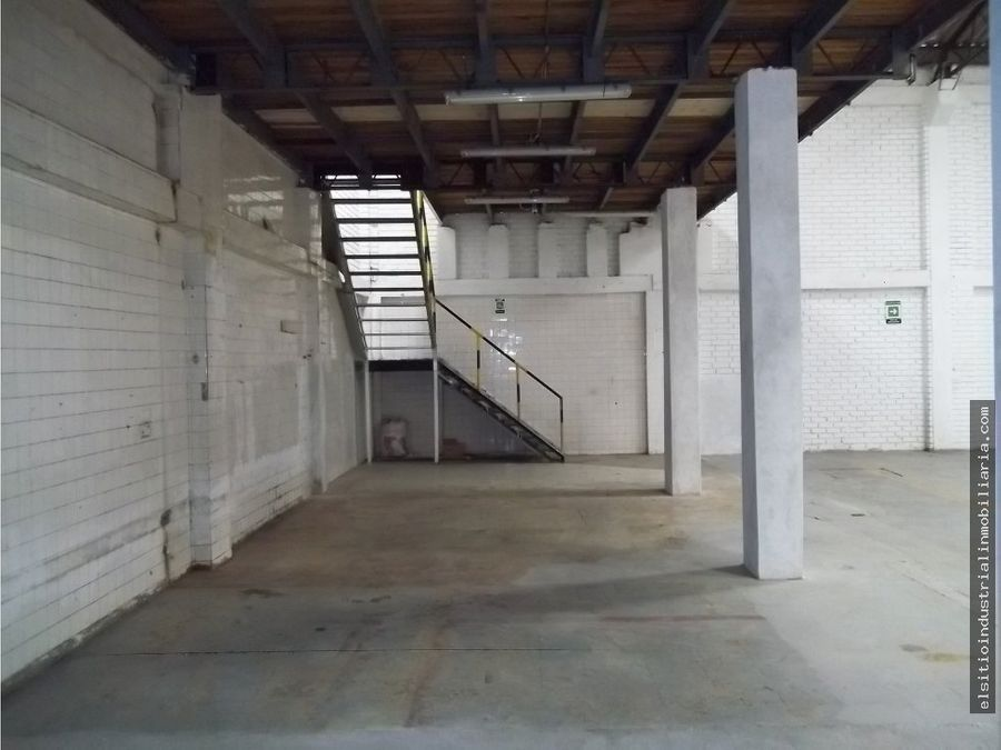 bodega zona industrial puente aranda bogota