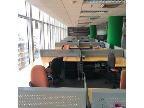 oficina en alquiler torre citi bank cc el recreo 1347m2